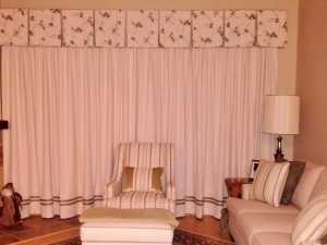 Transitional Custom Draperies & Upholstery