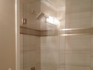 Euro-style Shower Door for Optimum Style